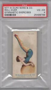 1887-N77-Duke-Cigarettes-Gymnastic-Exercises-Roll-Over-Graded-PSA-4