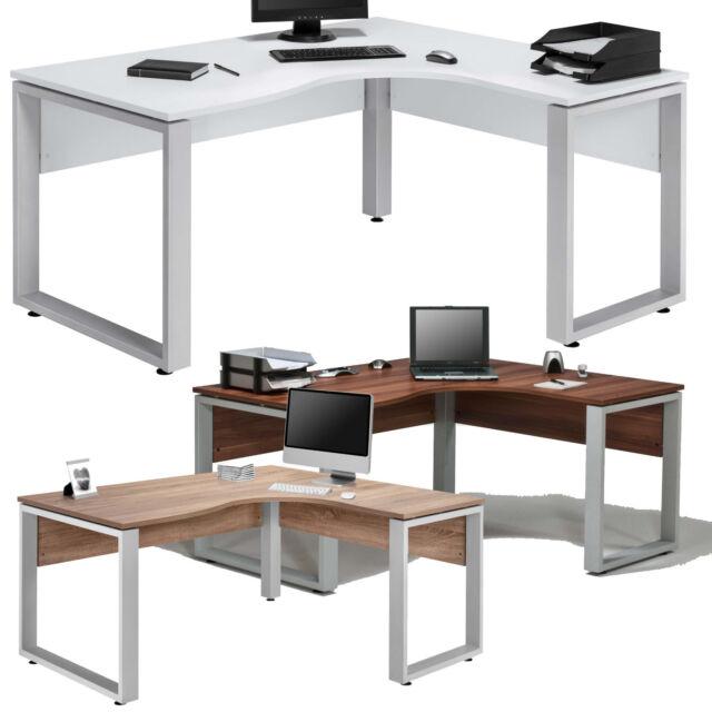 1887 Eck-Schreibtisch Sonoma Eiche Eckschreibtisch Bürotisch