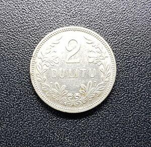 2 Litu Silber Münze 1925 Litauen Lietuva Original Ebay