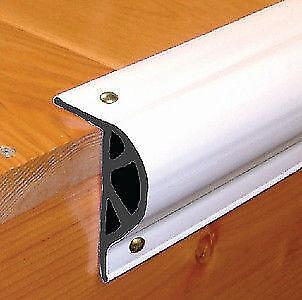 New TAYLOR Dock Pro Vinyl Dock Edging P-Shape 3-1//8 H x 2 W x 10 L White 46012