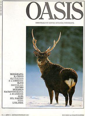Oasis annata completa 1985 - 6 riviste