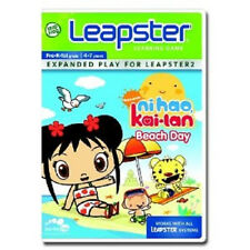 Leap Frog Leapster Nihao, kai-lan Beach Day Expanded Play for Leapster 2 NEW