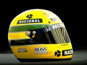 ayrton senna helmet 8x10 photo photograph picture formula 1 brazilian ebay. Black Bedroom Furniture Sets. Home Design Ideas