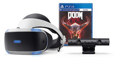 BRAND NEW SEALED Sony PlayStation VR Doom Bundle White//Black