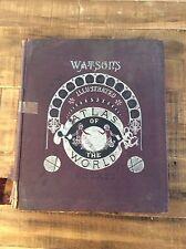 WATSON'S ILLUSTRATED ATLAS OF THE WORLD - 1891