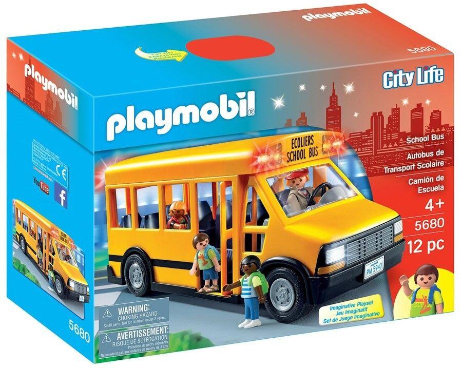 Playmobil City Life School School School Bus Set 6cfb3a