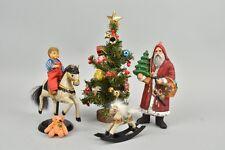 e7m18- Puppenstuben Zubehör, Puppe/ Weihnachtsdeko und Schaukelpferde