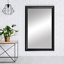 thumbnail 21 - Framed Wall Mirror - Black, White, Espresso/Brown, Nickel