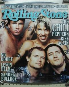 RED-HOT-CHILI-PEPPERS-2000-Rolling-Stone-Magazine-promo-poster-NEW-old-stock