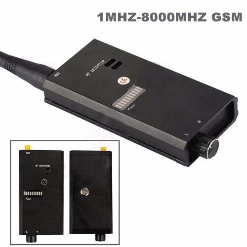 1-8000MHZ Radio Anti-spy FBI GSM Bug RF Signal Tracker Locator Detector Finder