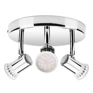 3-Way-ajustable-Plafonnier-DEL-spots-encastres-cuisine-GU10-5-W-ampoules