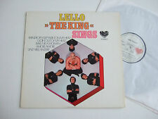 "LELLO TARTARINO ""The King"" sings Mabel 80 663 IT (GER) Autogramm Hand-signed LP"