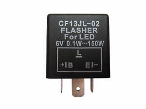 Blinker Flasher Blinkgeber 3 polig  3 Pin LED 6V Lastunabhängiger Simson MZ