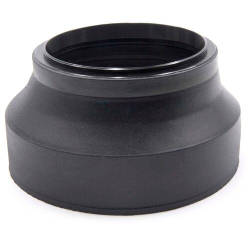 LENS HOOD RUBBER 72mm black for Olympus