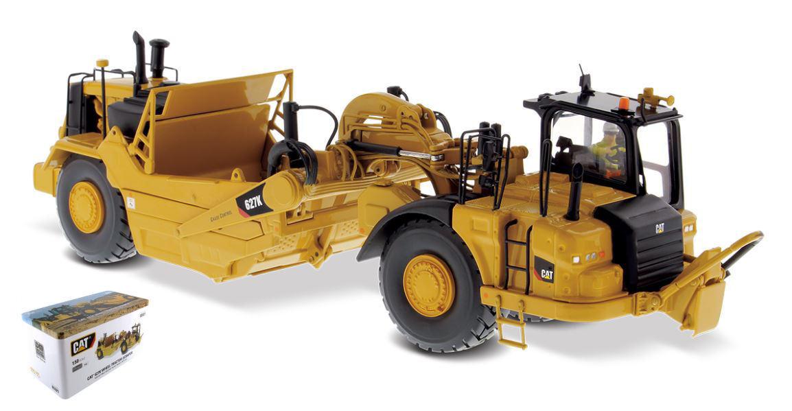 Katze 621k rad traktor einem druckguss meister 1  50 - modell