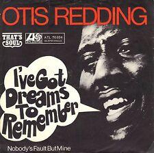 """7"""" Otis Redding – I've Got Dreams To Remember // Germany 1968"""