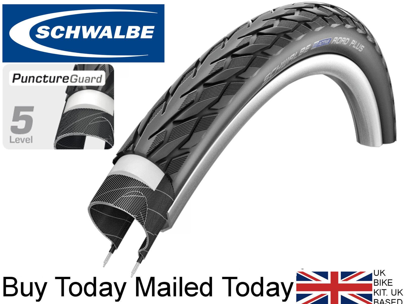 Schwalbe Delta Cruiser Plus PunctureGuard 700 x 38c Reflex Bike Tyre Tour Hybrid