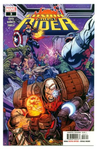 Details about  /1 11//18 COSMIC GHOST RIDER #3 1st FUTURE GUARDIANS /& PUNISHER THANOS 9.8! CGC IT
