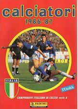 ALBUM CALCIATORI RISTAMPA L'UNITA' ANNO 1986-87