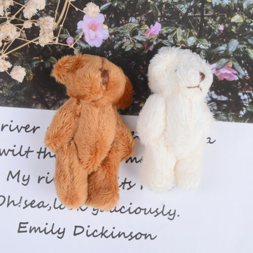 Mini 6 cm fluffy bear plush stuffed baby toy doll for kids candy box gifts uq