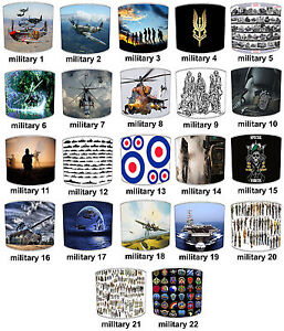 Lampshades-Ideal-for-MILITARY-RAF-FORCES-SAS-Army-Soldier-duvets-amp