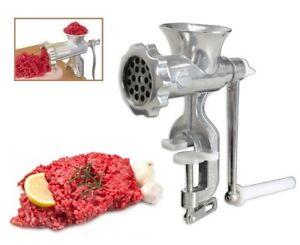 Trita-carne-verdure-pasta-manuale-con-manovella-a-fissaggio-a-morsa