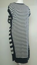 Bnwt Allsaints Alna Striped dress.sz medium. 'Ink mix' £128