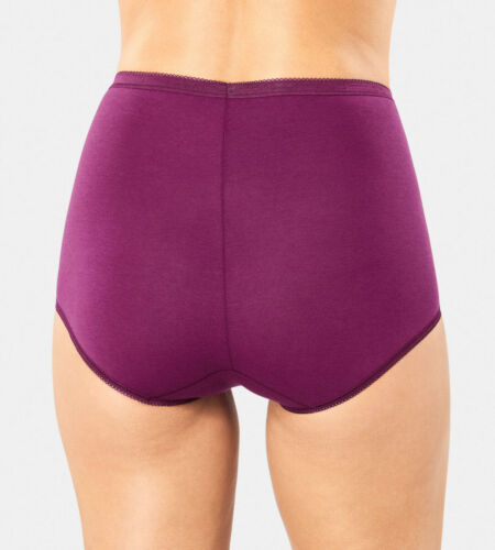 Maxi Briefs Knickers 3 Pack 10189217 95/% Cotton RRP £26.00 Sloggi Basic