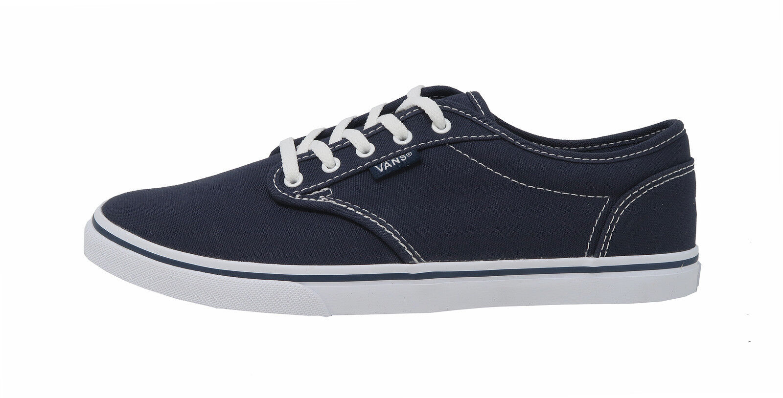 VANS Atwood Low Navy Blau Weiß Lace Up Up Up Lady Turnschuhe damen schuhe 779dbc