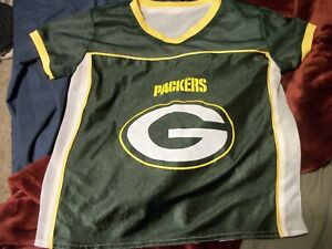 wholesale dealer 3bc4f e7972 Details about NFL Play 60 Kid's Jersey Flag Football Youth MEDIUM GREEN BAY  PACKERS
