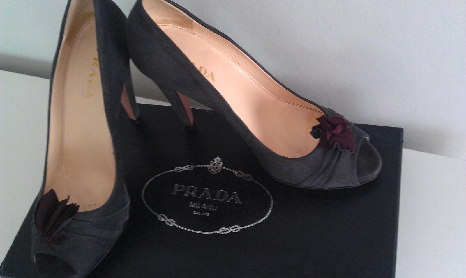 Prada Damenschuhe Top. Slipper Scarpe – Exklusiv  Gr.37 (tats. 36) High Heels