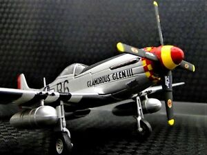 1-Airplane-Aircraft-Metal-Diecast-Model-Vintage-Antique-WW2-War-Bird-48-72