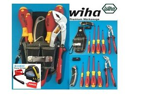 tool kit wiha german precision vde screwdrivers multigrips with pouch bonus ebay. Black Bedroom Furniture Sets. Home Design Ideas