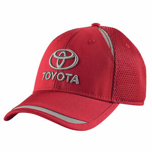 84ff8fbbf3b Image is loading Toyota-Chapman-Red-Mesh-Hat