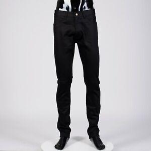 CELINE-HOMME-560-Mid-Waist-Skinny-Jeans-In-Black-Japanese-Denim