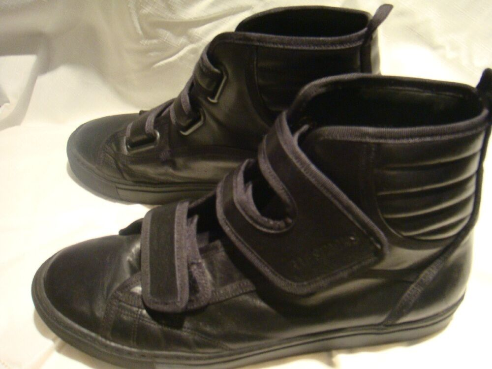 Raf Simons Black Velcro Sneakers size 43