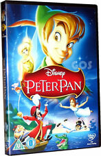 Peter Pan Walt Disney Classic No 14 Film Childrens Movie Songs DVD New Sealed