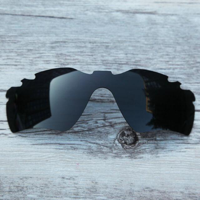 de1f8a2fc9 Polarized Replacment Lenses for-Oakley Radar Path solid black vented lenses