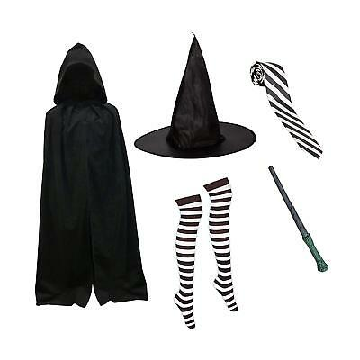 AGE 4-11 YEARS TIGHTS HALLOWEEN WITCH MILDRED HUBBLE HAT STRIVE STICKER BADGE