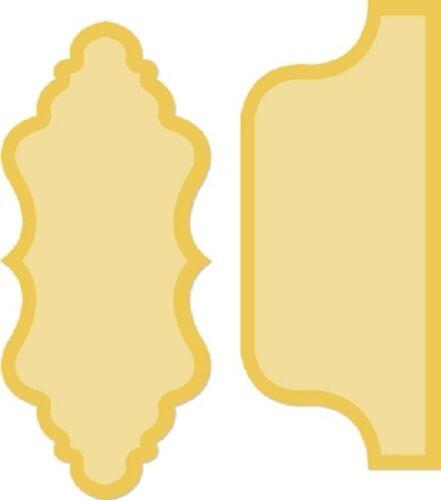 Kaisercraft Decorative Dies /'LARGE TABS DD383/' Card Making Kaiser *2 Left*