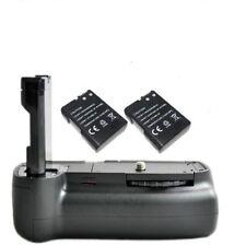 Vertical Battery Grip holder For Nikon D3100 D3200 D3300 +2x Decoded Battery