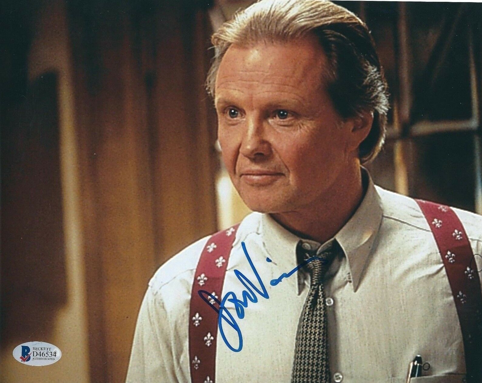 Jon Voight Signed 8x10 Photo *Holes *Transformers Beckett BAS D46534