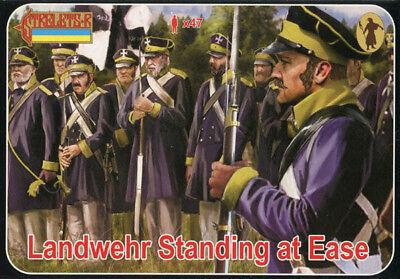 Napoleonic Strelets 1//72 Landwehr Standing at Ease # 169