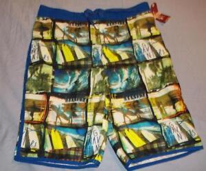 5a82f3676a Image is loading New-Arizona-youth-boys-swim-shorts-size-XL-