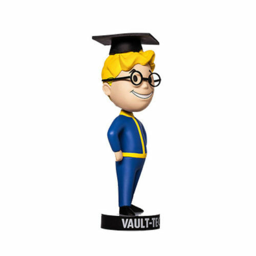 Fallout 4 Vault Boy Bobble Head Action Figure Model Collectible Toy Gift No Box