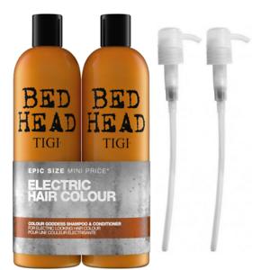 TIGI-Bed-Head-Colour-Goddess-Tween-Duo-2-X-750ml-2-Free-Pumps