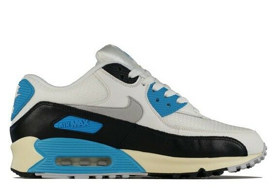 2012 NIKE NIKE NIKE AIR MAX 90 OG SAIL GREY blueE US 12  RETRO 298065