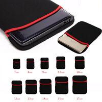 """11"""" 15.6"""" 17""""IN NYLON Computer Laptop Notebook Netbook Sleeve Custodia Borsa"""