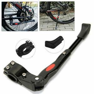 Black-MTB-Road-Bike-Side-Kickstand-Mountain-Bicycle-Adjustable-Alloy-Kick-Stand