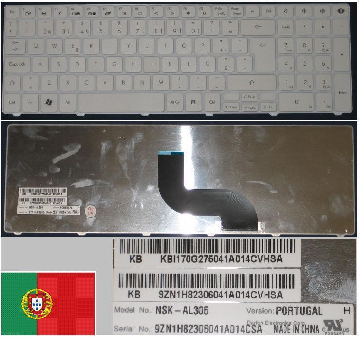 Clavier Qwerty PO Portugais GATEWAY ID 15.6